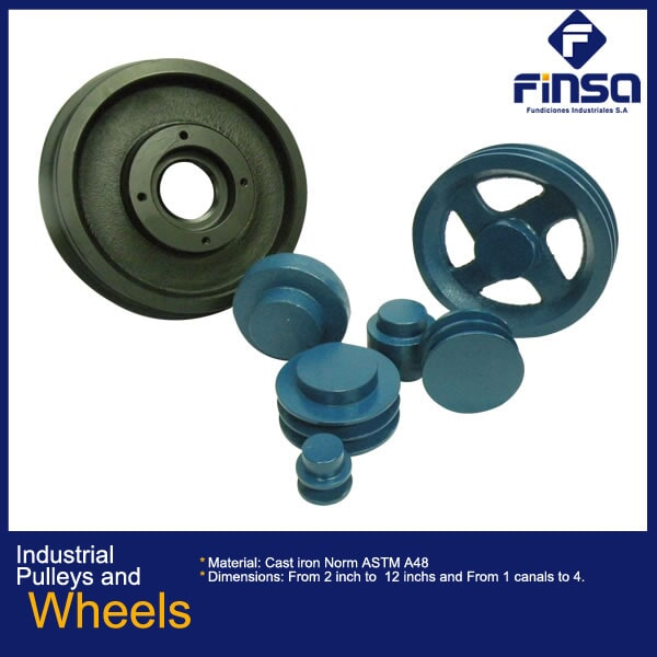 Fundiciones Industriales S.A.S - Industrial Pulleys and Wheels