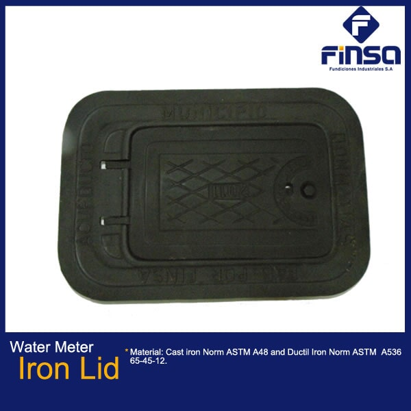 Fundiciones Industriales S.A.S - Water Meter Iron Lid