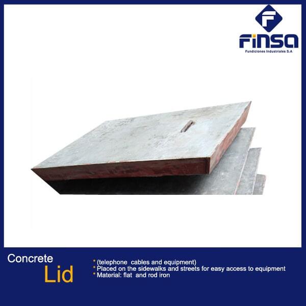 Fundiciones Industriales S.A.S - Concrete Lid