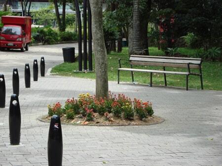 Amoblamiento Jardín Botánico de Medellín