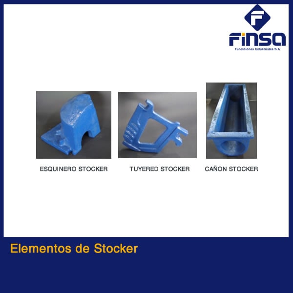 Fundiciones Industriales S.A.S - Elementos de Stocker