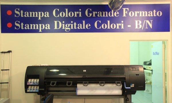 stampanti comunicazione visiva
