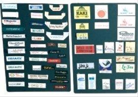 Etichette tessili