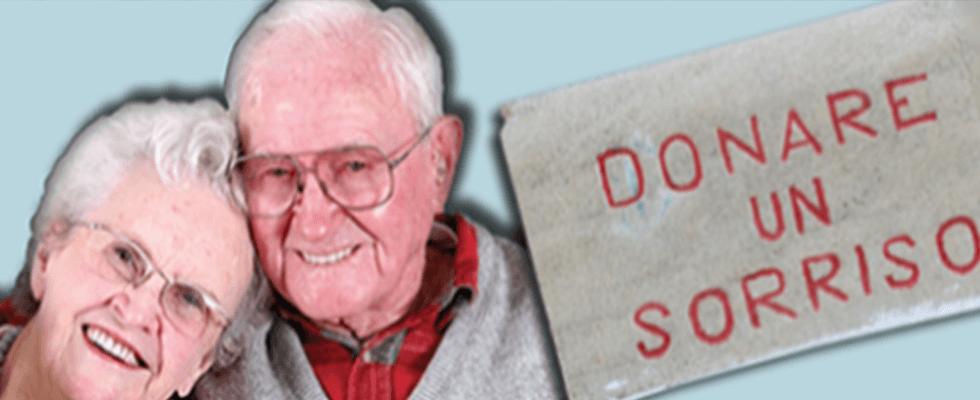 Donare un Sorriso assistenza anziani