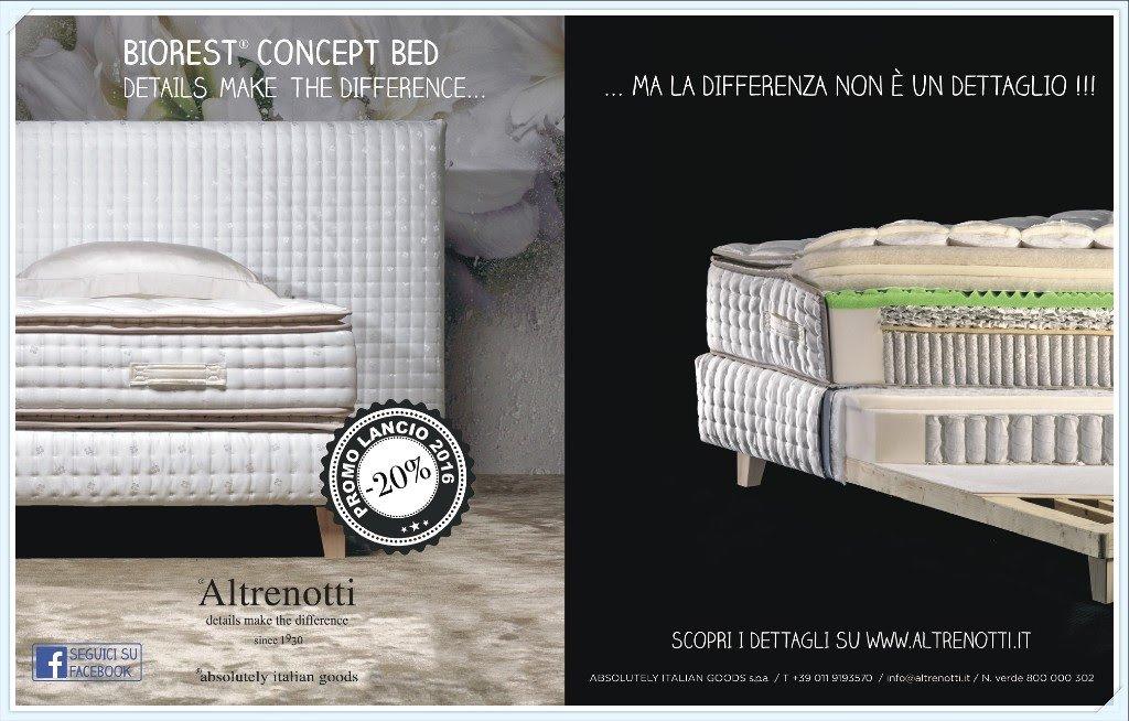 Biorest Concept Bed di Altrenotti