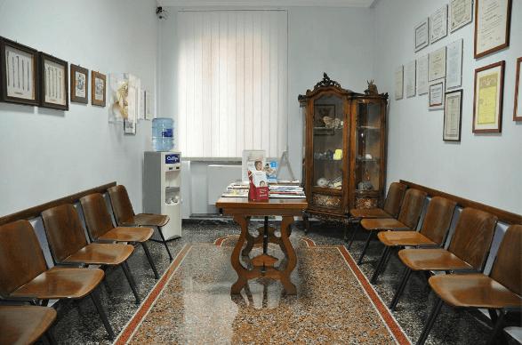 Dentista Bardoneschi Genova - Sala attesa