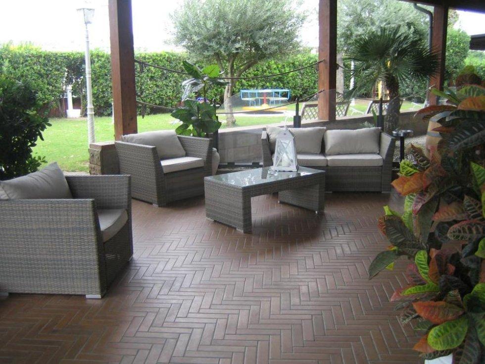 La veranda di Sa Baracca