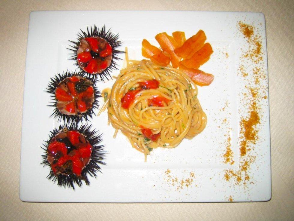 Spaghetti con i ricci