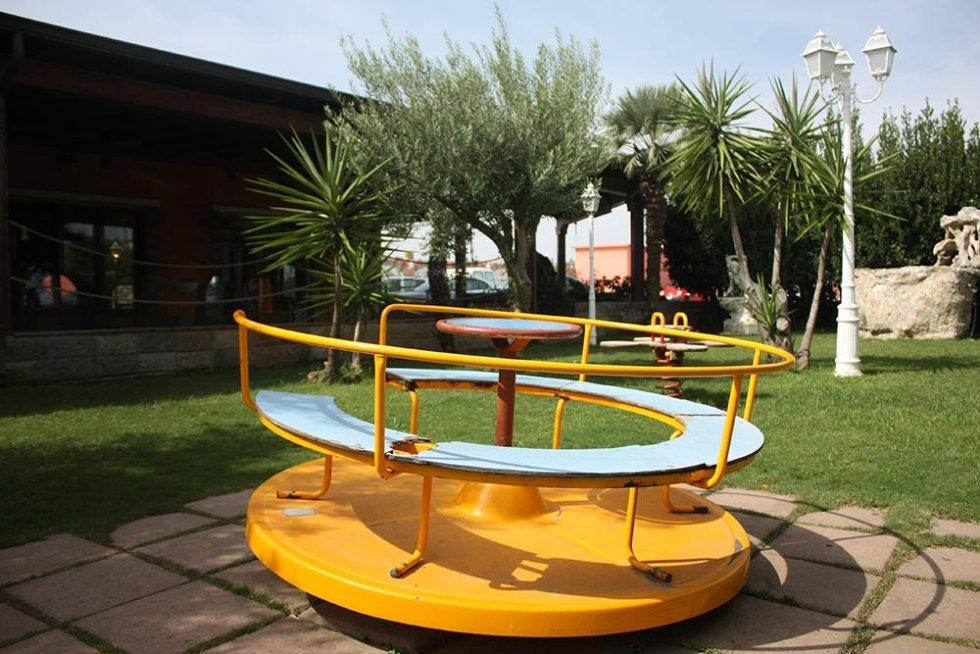 Ristorante con spazio giochi per bambini