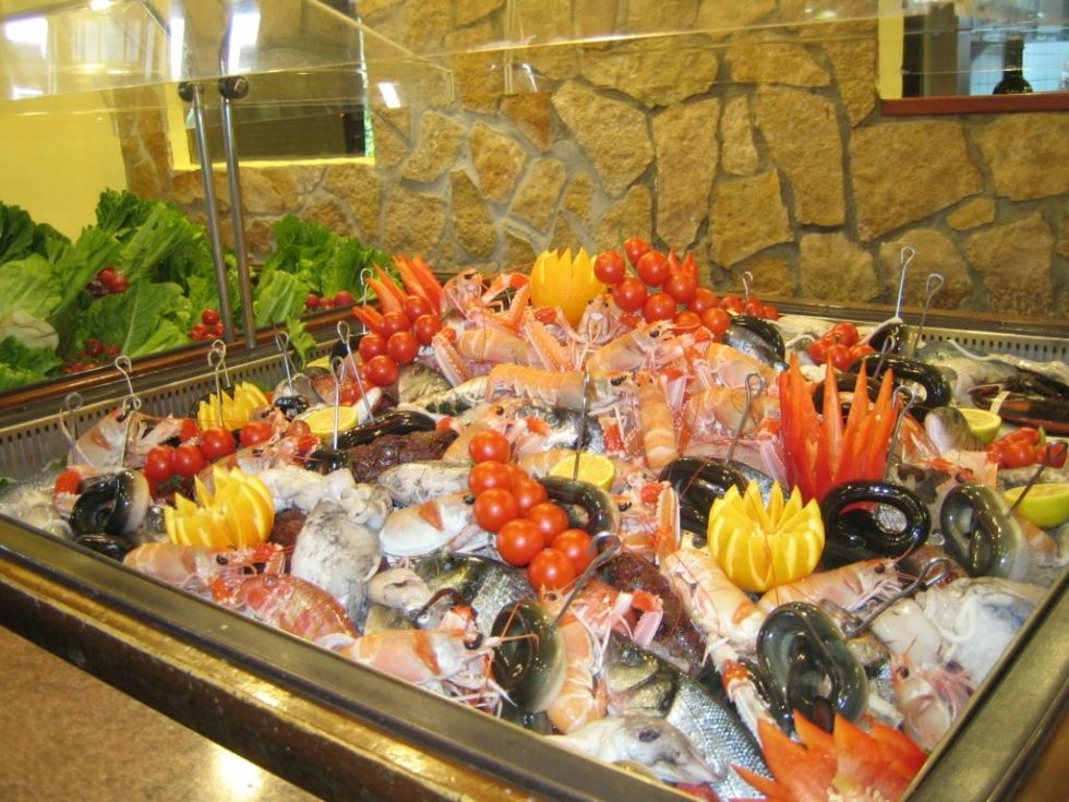 Ristorante con menù a base di pesce