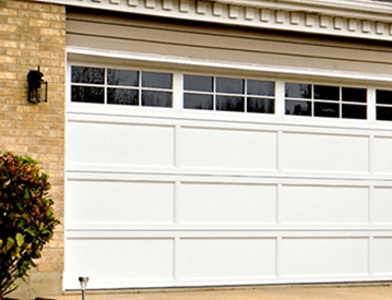 Front view of the newly installed garage doors in Gold Coast