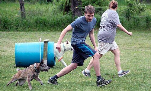 Training at Mill Pond