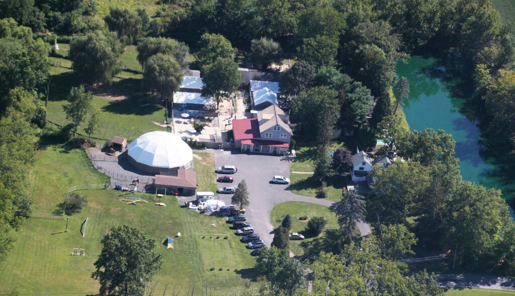 Arial View of Mill Pond Vet Clinic