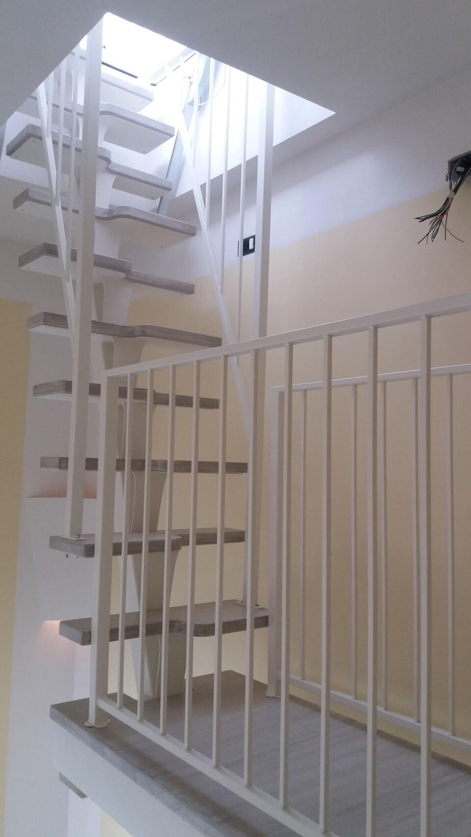scale con gradini asimmetrici
