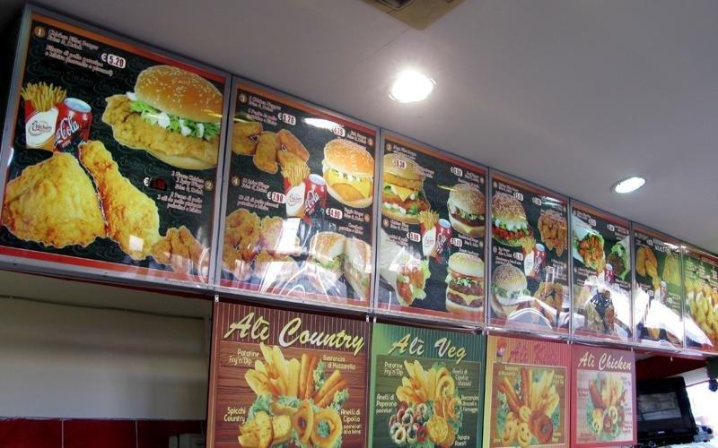 pannelli menu