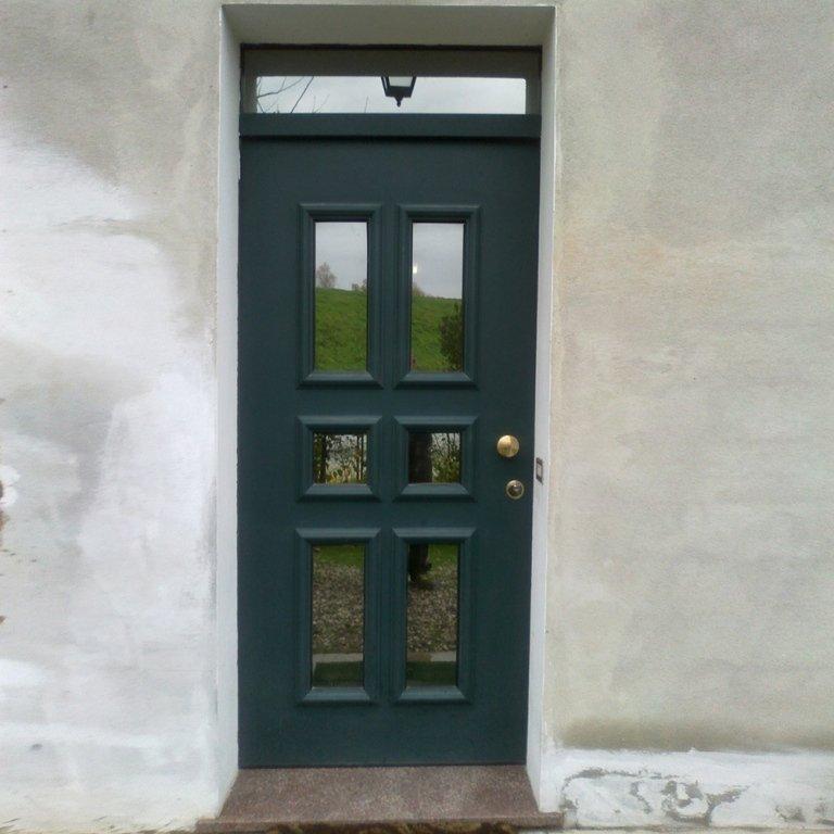 porta con blindovetro