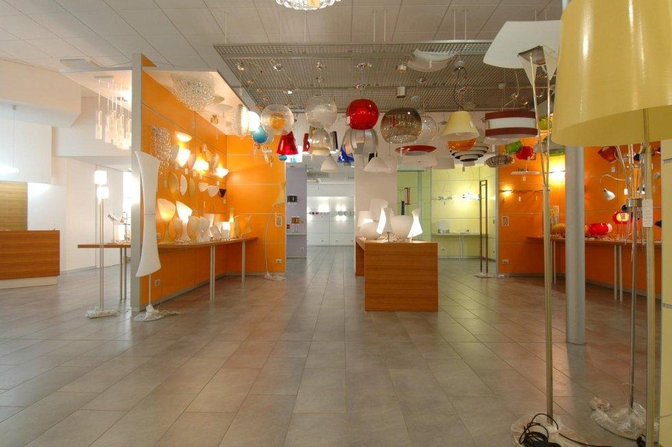 Show room lampade per interni
