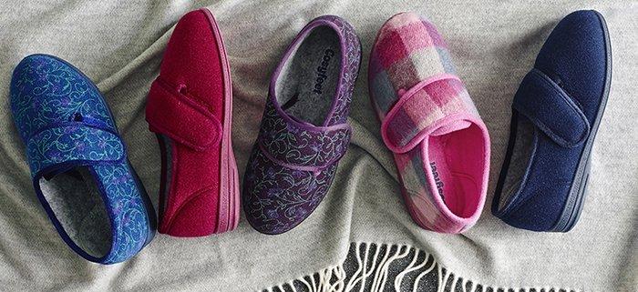 warm footwear