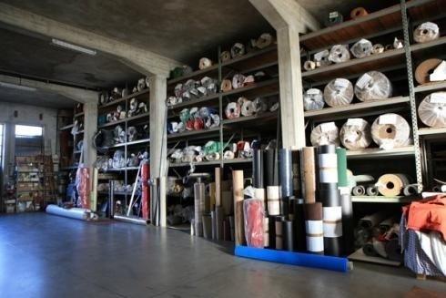 magazzino materiali per la casa