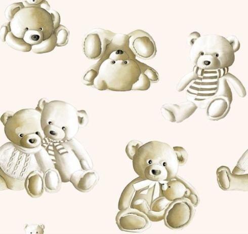 Tessuto Teddy Bear