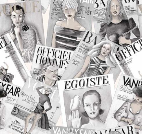 Tessuto Vogue