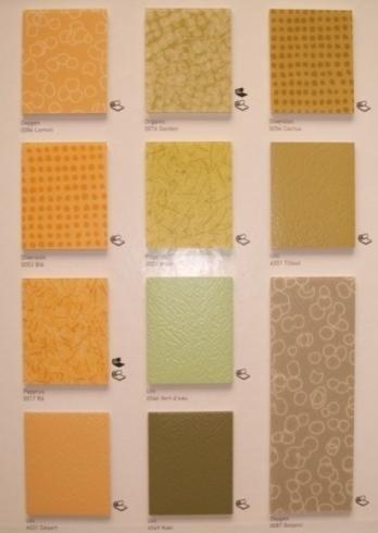 campioni pavimento pvc colorato