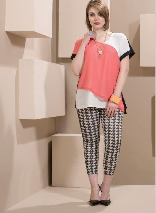 maglie casual oversize