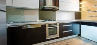 A new fitted kitchen