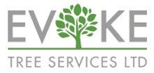 Evoke tree services logo
