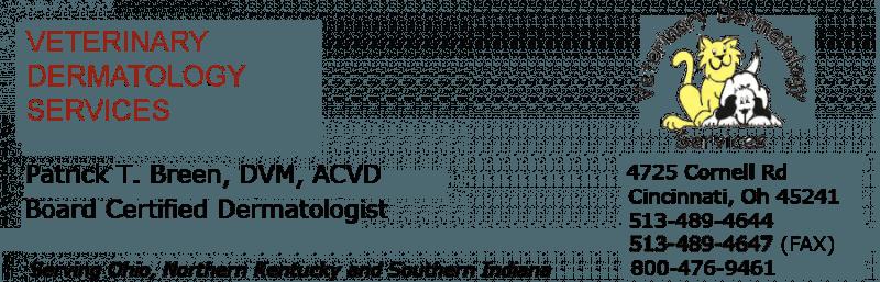 Veterinary dermatology service image