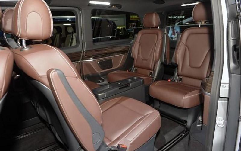 noleggio Mercedes Van