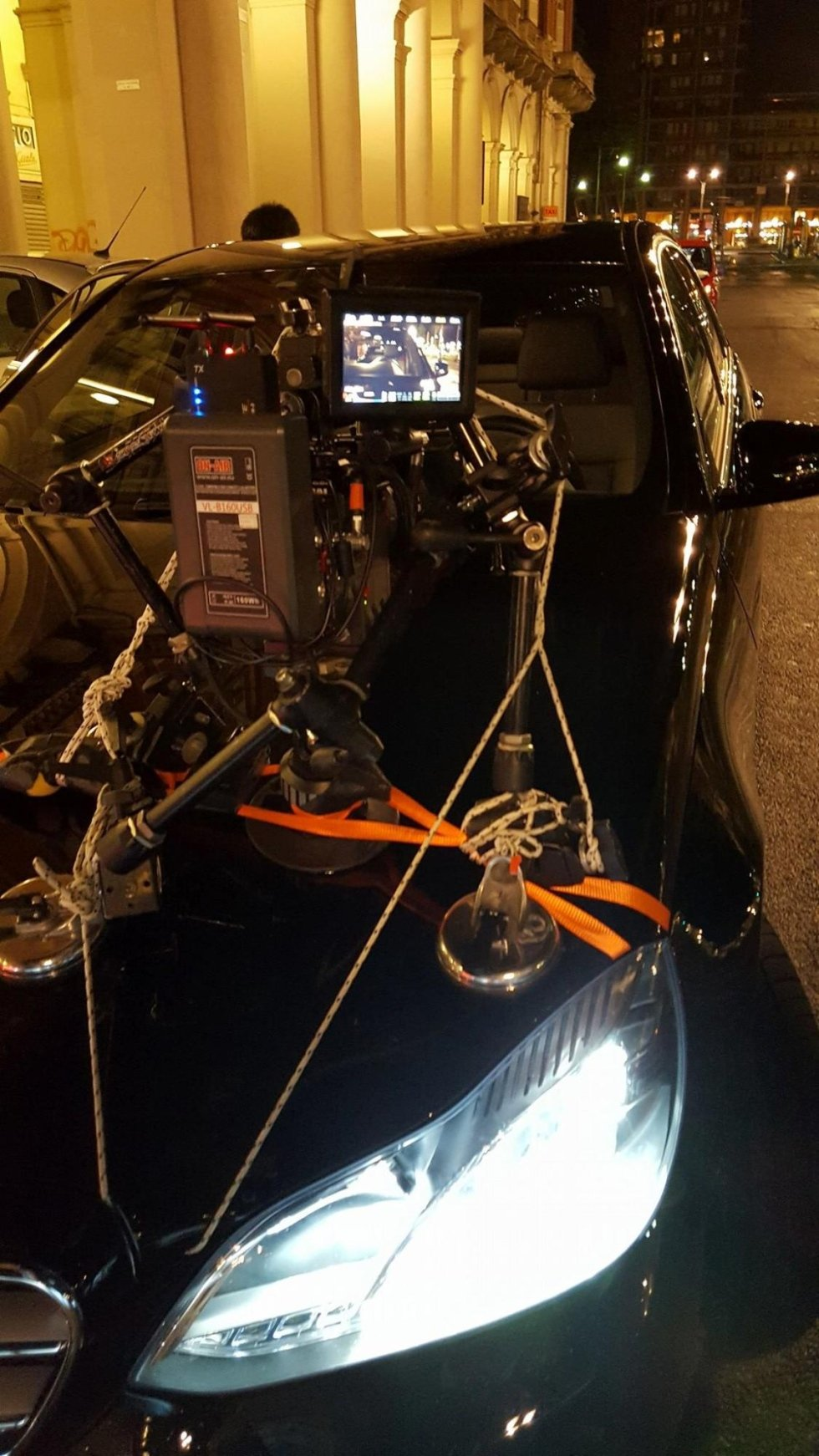 Car rental for film and TV productions