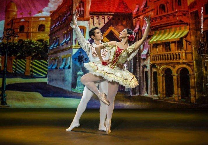 Coppia di danza classica