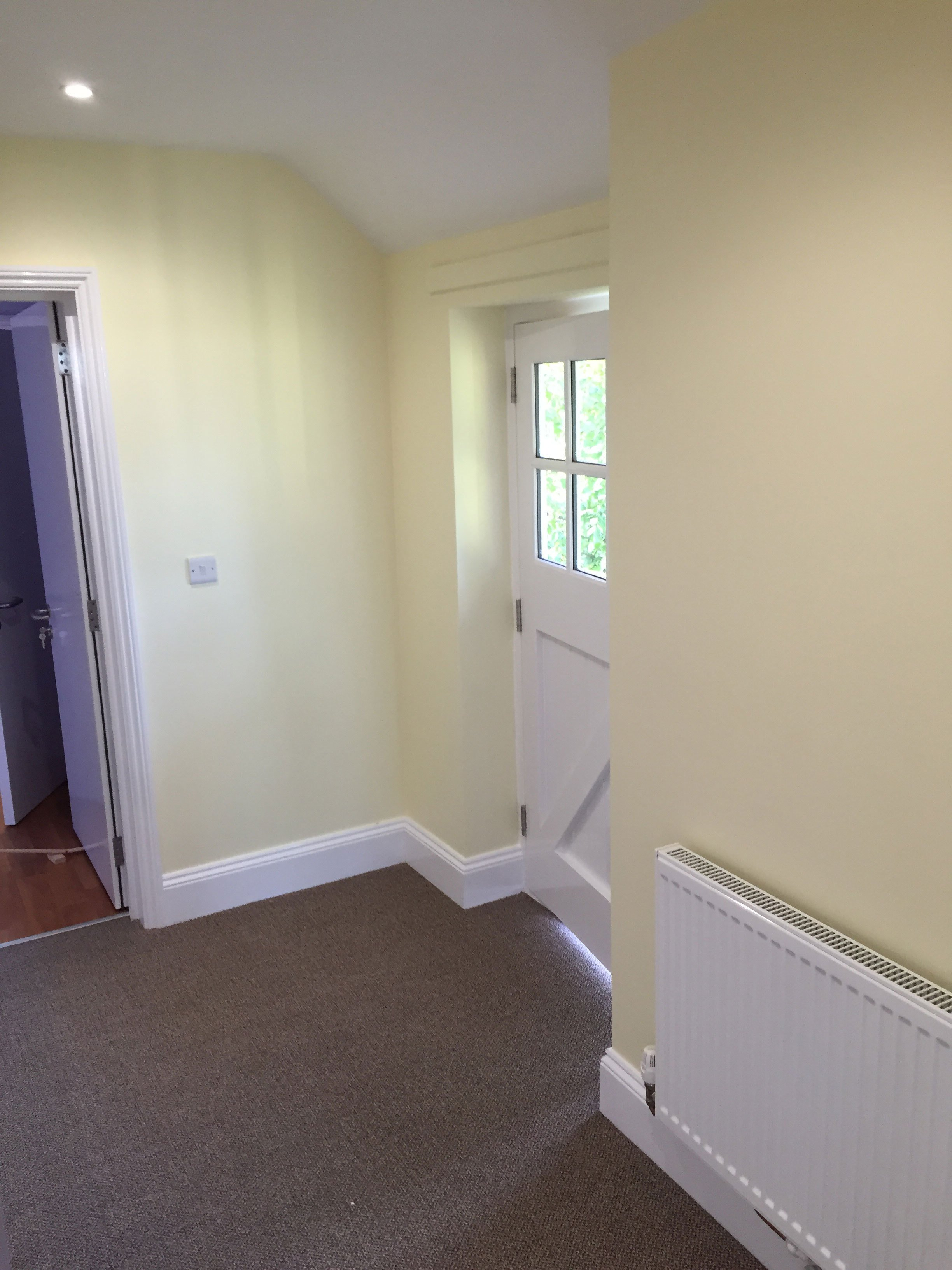 Room painted by professionals in Grantham, NG