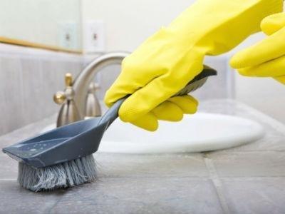 L'impresa di pulizie