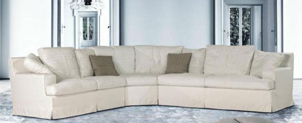 fodera divano bianca