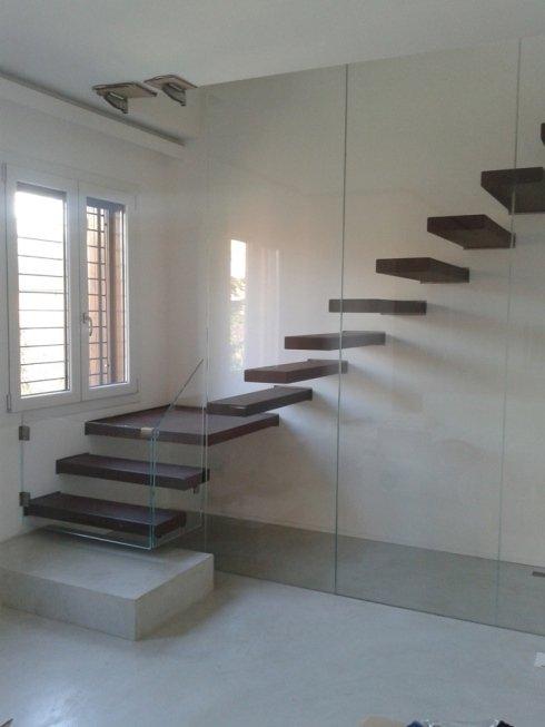Parapetti per scale interne