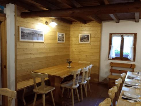 Trattoria tables