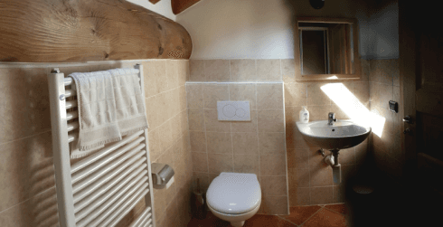 Room with private bath
