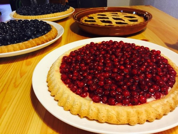 Crostata fatta in casa