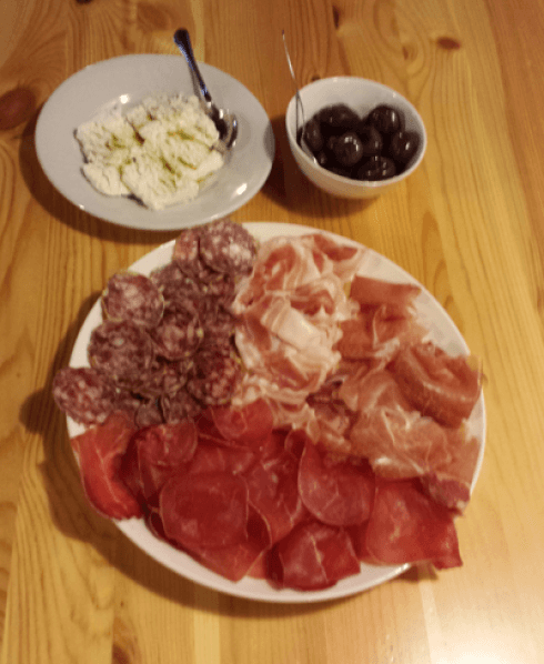 Mixed meat selection