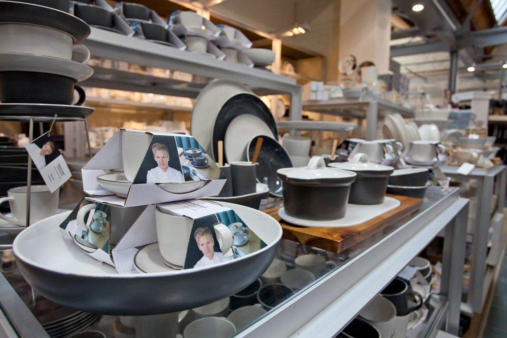 Gordon Ramsay pots and pans
