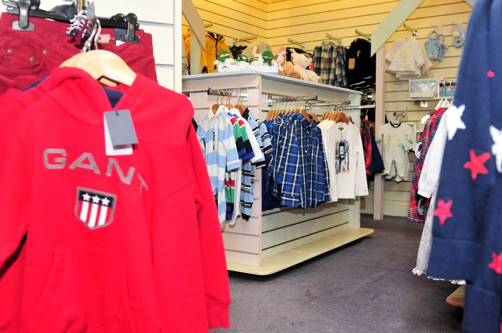 Children's clothes at our shopping centre