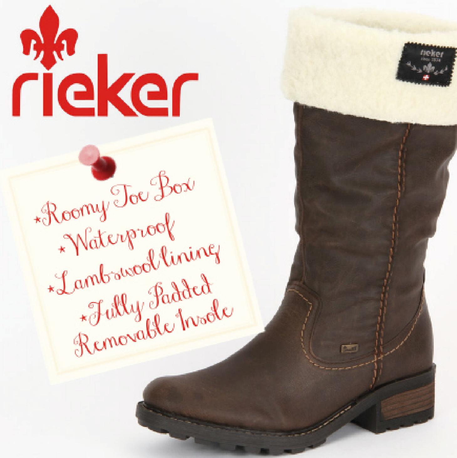 Rieker footwear