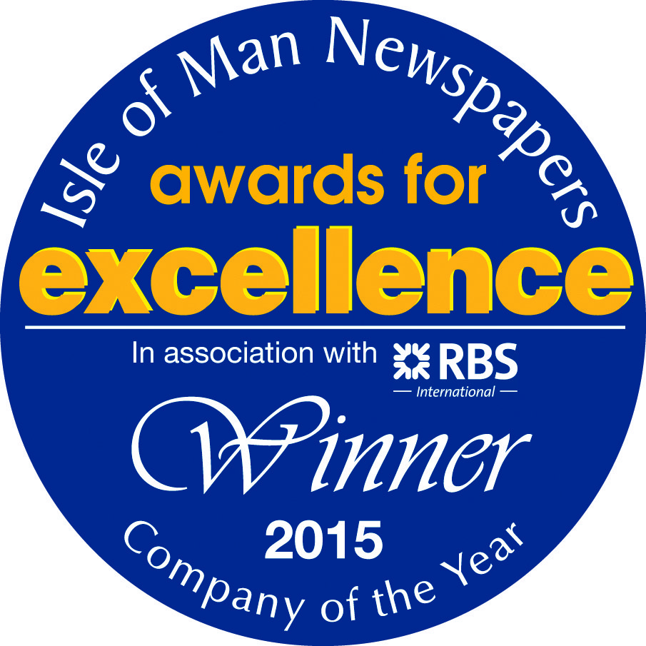 Isle of Man Newspapers awards for excellence winner for 2015 award