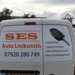 SES Auto Locksmith service vehicle