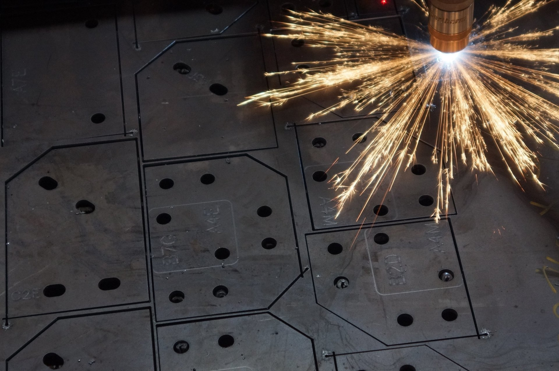 Plasma Cutting Of Steel Copper And Brass In Dungannon
