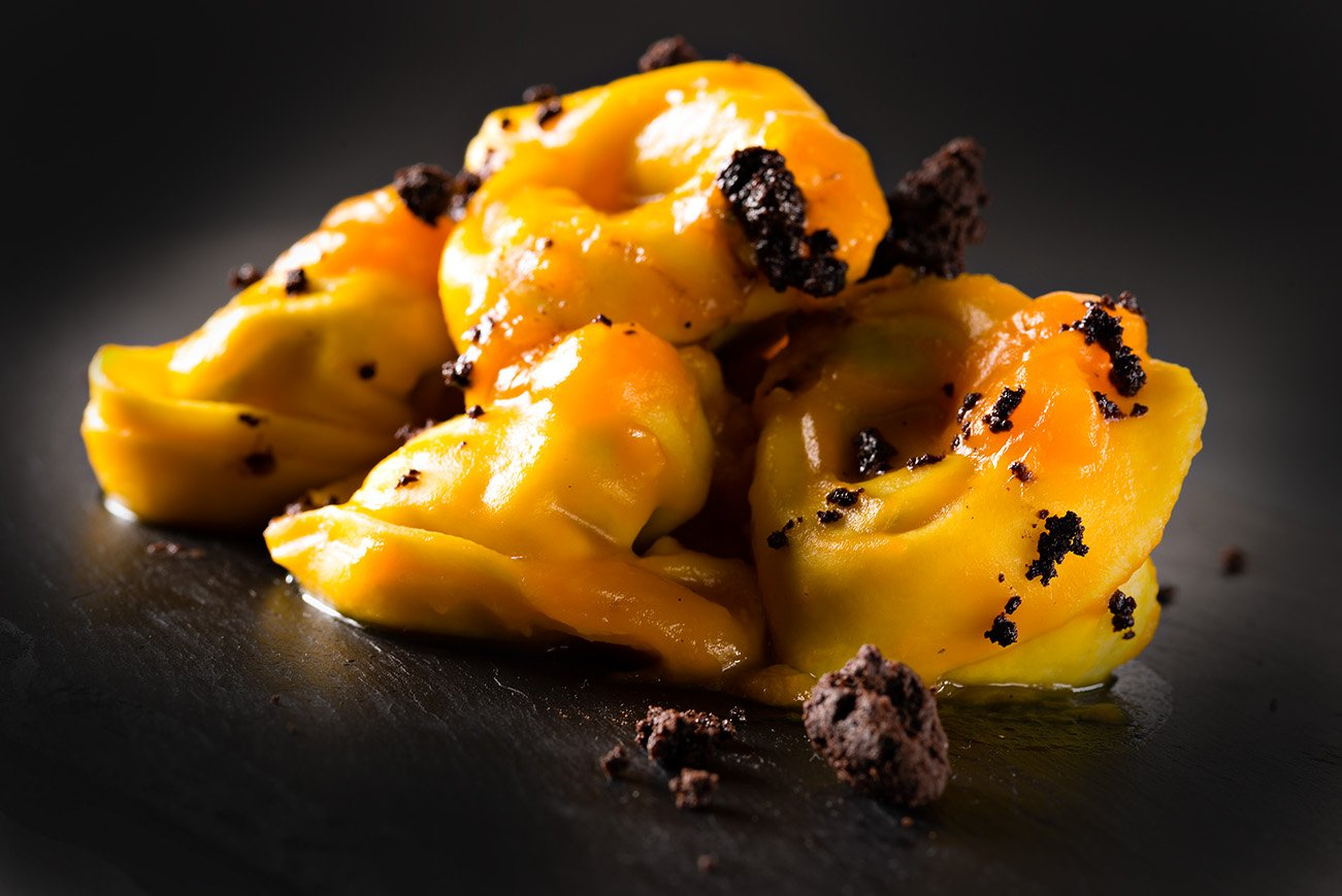 tortellini al tartufo nero