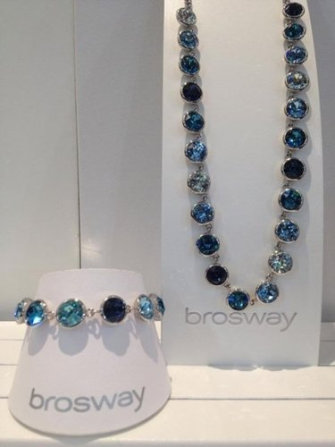 collana e bracciale a marchio BROSWAY