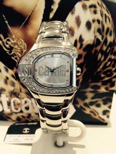 orologio in argento a marchio JUST CAVALLI